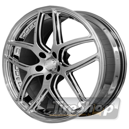 Roda HD Overdrive (Chrome Paint) Aro 20x8 5x100 ET42